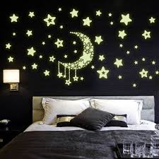 online get cheap stars wall stickers aliexpress com alibaba group 2016 new arrive creative fluorescent luminous vinyl wall stickers moon stars wall stickers for kids room