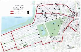 Winthrop Washington Map by Proposed Boston Literary Cultural District A Map Survey Report