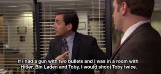 Toby Meme - michael to toby the office know your meme