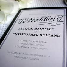 formal wedding programs best modern wedding programs products on wanelo