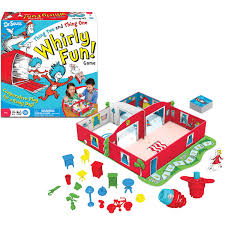 dr seuss thing two and thing one whirly fun game walmart com