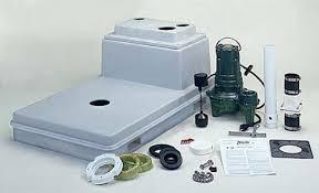 basement toilets 102 zoeller qwik jon sewage pump package from