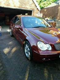 2002 mercedes c220cdi elegance manual in uttoxeter