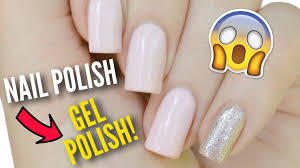 transform your nail polish into gel polish youtube