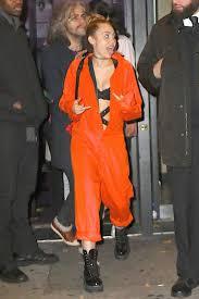 orange jumpsuit miley cyrus in orange jumpsuit 07 gotceleb