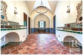 Mexican Tile Bathroom Designs Mexican Quarry Tile Tips For Home Interiors Rustico Tile U0026 Stone