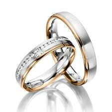wedding ring sets his and hers white gold unique wedding rings set for him and gold 14k white gold