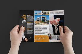 real estate brochure template pack brandpacks