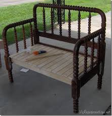 Bench Made From Bed Headboard How To Make An Old Headboard Into A Cool Bench Headboard Benches