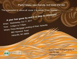 1 yr anniversary prime mortgage lending of west asheville 1 yr anniversary party