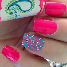 uñas decoradas de rosa pink nail art uñas rosa pink nails
