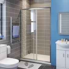 Shower Sliding Door Showers Framed Shower Screen Sliding Door Glide