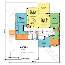 in suite plans welker 29354 craftsman home plan at design basics