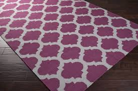 Trellis Rugs District17 Gray And Raspberry Trellis Frontier Rug Flat Weave