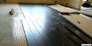Installing Engineered Hardwood On Concrete Wooden Floors Concrete Installing Engineered