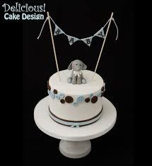 chrissy blue brown button elephant baby shower cake3 sml jpg 2133