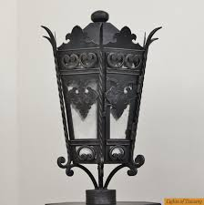 Lantern Style Outdoor Lighting by Lights Of Tuscany 7255 1 Outdoor Exterior Post Lighting