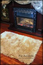 coffee tables sheepskin seat covers for cars grey fur rug