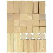everearth wood blocks 80 pieces toys