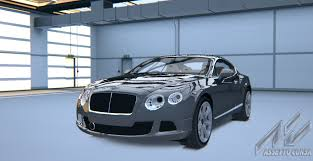grey bentley bentley continental gt bentley car detail assetto corsa database