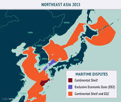 Map Of China And Japan by The Evolution Of Asia U0027s Contested Waters Asia Maritime