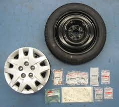 honda odyssey spare tire kit depax odyssey 16 inch steel kit rims hub caps lug nuts and 1