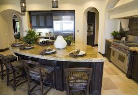 curved kitchen island the curved kitchen island the great combinations between the