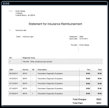 Superbill Template by Creating Superbills Simplepractice Support