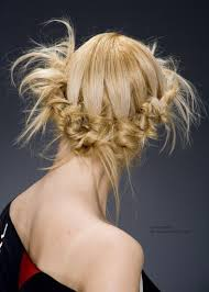 hairstyle for a cocktail party or an outdoor wedding