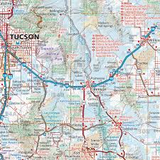 Arizona Map Cities by Arizona Recreation Map U2014 Benchmark Maps