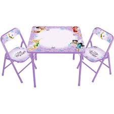 activity table and chairs disney tinker bell fairies erasable activity table and chair set