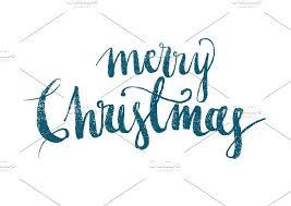 merry christmas modern merry christmas modern calligraphy illustrations creative market