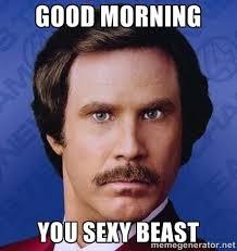 Dat Ass Meme Generator - good morning you sexy beast ron burgundy meme generator memes