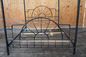 full canopy bed frame easy metal bed frame on adjustable bed frame