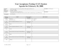 uat testing template excel calendar template excel