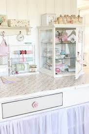 Decoupage Kitchen Cabinets Display Cabinet And Tilda Decoupage Desk Craft Room A Tilda Filled