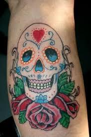 candy skull tattoo flash flickr photo sharing candy skull