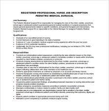 Pediatric Medical Assistant Resume Director Of Nursing Job Description Resume For Nurses Sample