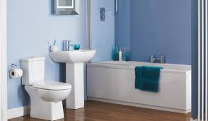 blue bathroom ideas house living room design