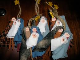 creative try als nativity tree decoration