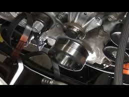 95 mustang gt underdrive pulleys bbk power plus underdrive pulley system installation