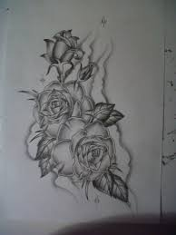 roses tattoo design by tattoosuzette on deviantart