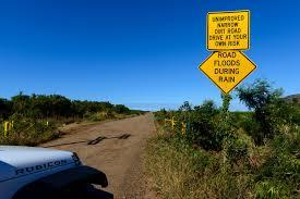 jeep trail sign camping on kauai u0027s remote polihale beach matador network