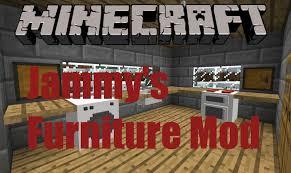 Your House Furniture Minecraft Mod Jammy U0027s Furniture Mod 1 5 2 Decorate Your House
