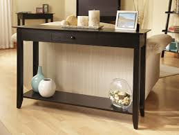Skinny Foyer Table Decorating The Hallway With Perfect Console Tables Design Ikea