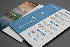 Targeted Resume Examples by 20 Resume Templates That Look Great In 2015 Creative Market Blog