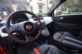 going electric italian style the fiat 500e la car