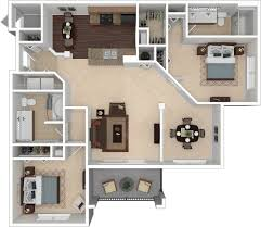 simple floor plan with 2 bedrooms floorplans the preserve at forest creek