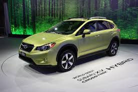 subaru crosstrek matte green we obsessively covered the 2013 new york auto show autoblog