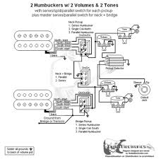 hbs 3 way toggle 2 vol 2 tones series split parallel u0026 master